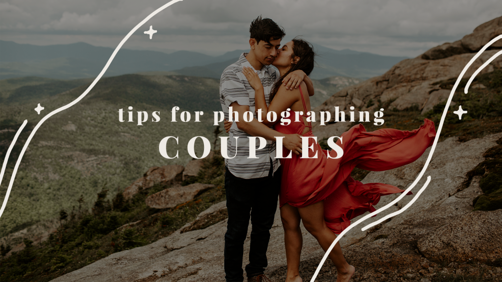 tips for photographing couples, engagements, and weddings as a photographer