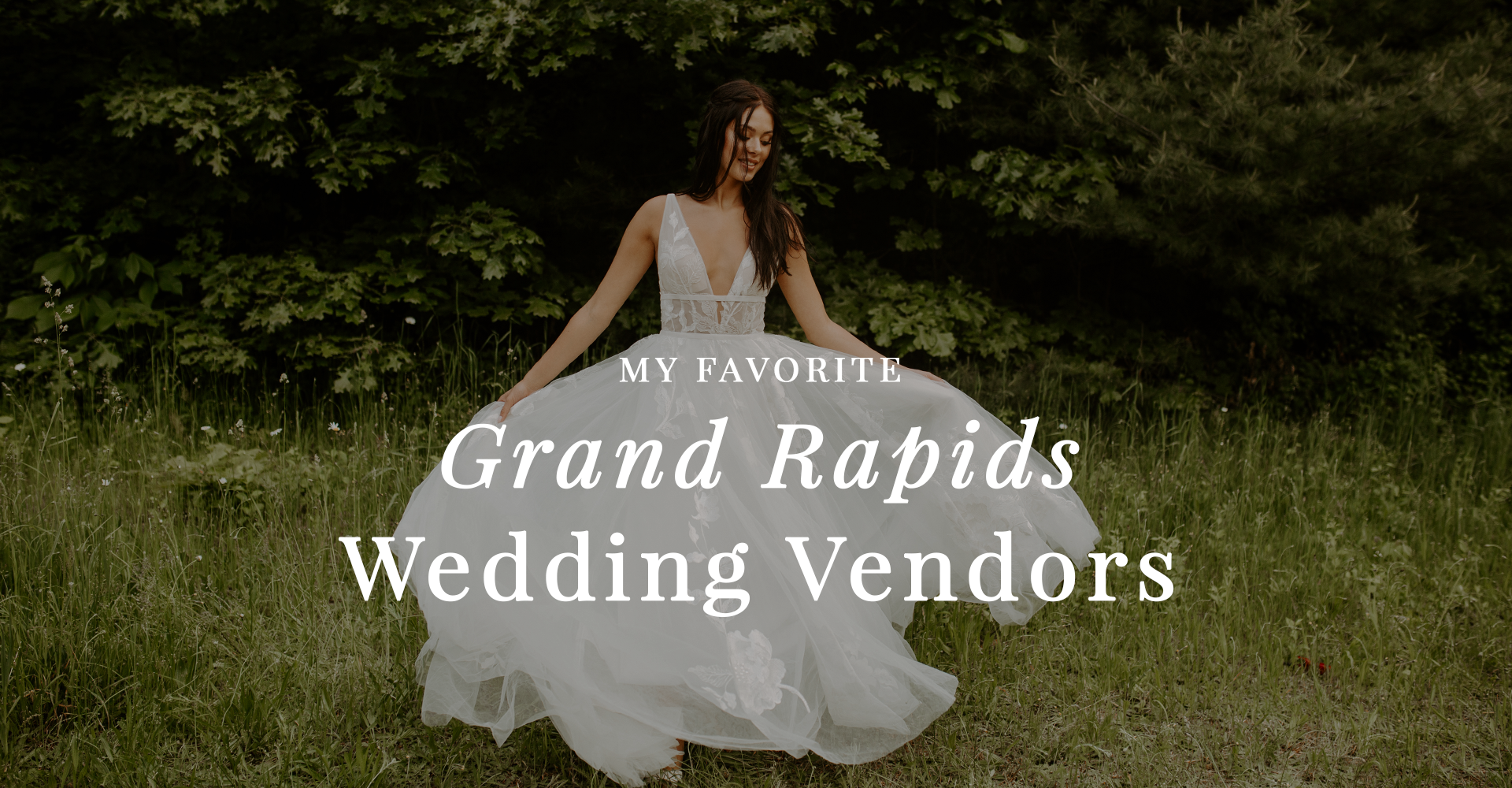 Top Grand Rapids West Michigan Wedding Vendors