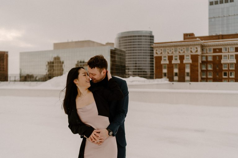 Rooftop Couples Photos